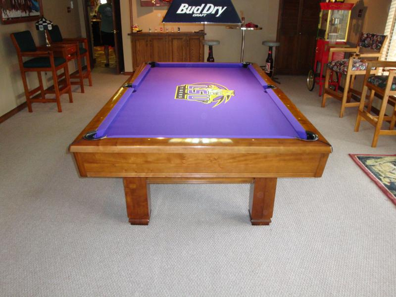 WEM Distributors INCLUDED W EACH NEW POOL TABLE Easily A - Brunswick sherwood pool table