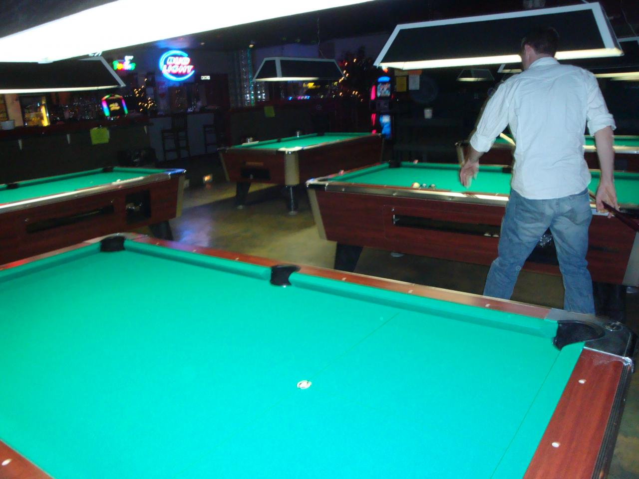 Brunswick Pool Table Prices 10 - 7' coin-op, bar box pool tables - AFTER recovery